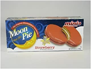 Moon Pie Minis - Strawberry (110 Calories) 6 Ct.