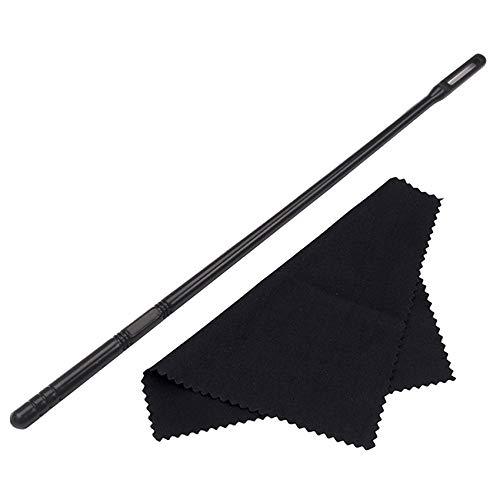 Baalaa Woodwind Instruments - Varillas de limpieza para flauta de limpieza con paño para flauta