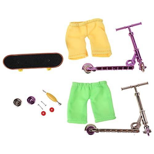 Juego de monopatín y bicicleta Sp3 Bronce Oro Rosa Serie-Jiuyecao-1 Unidad Interactiva Mini Dedo Scooter Dedo Patineta Patineta Patineta Patineta Patineta Dedo Mini Juguete Regalo Para Niños