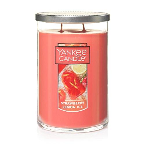 Yankee Candle Large 2-Wick Tumbler Candle, Strawberry Lemon Ice