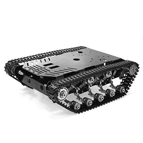 heneng Tracked Robot Tank Platform Smart Car Chassis Solid Structure 22 lbs Load