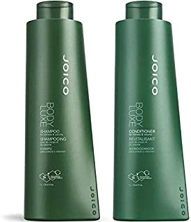 Joico Body Luxe Shampoo and Conditioner Liter Duo, 33.8 oz.