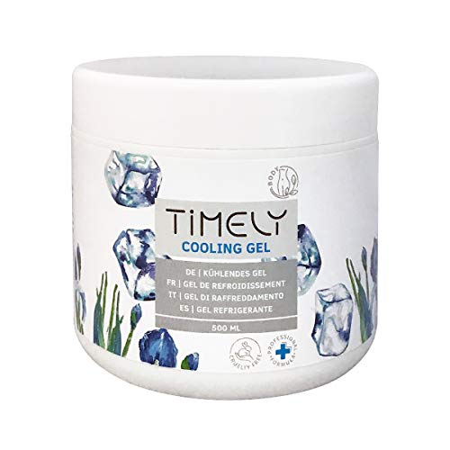 Timely - Gel refrescante para el dolor muscular, 500 ml