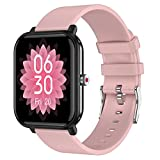 QFSLR Smartwatch, Reloj Inteligente Hombre Mujer con Monitoreo De...