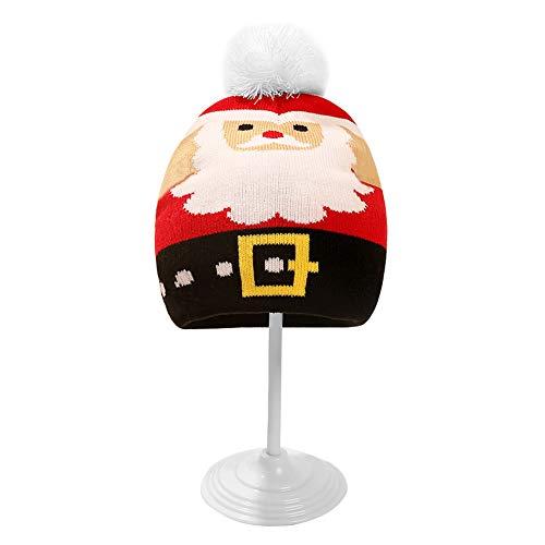ROSEBEAR Navidad Pompón Gorro Bebé Invierno Cálido Gorro Unisex Suave Y Cómodo Sombrero