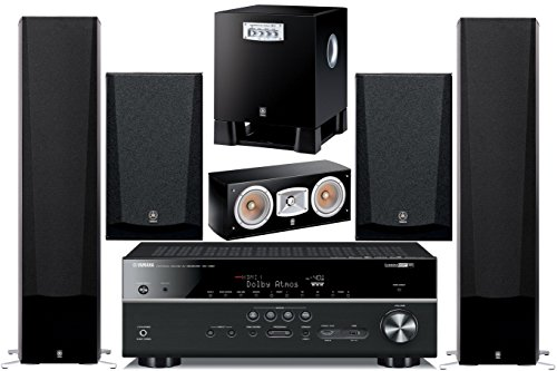 Yamaha 7.2-Channel Wireless Bluetooth 4K 3D A/V Surround Sound Home Theater System