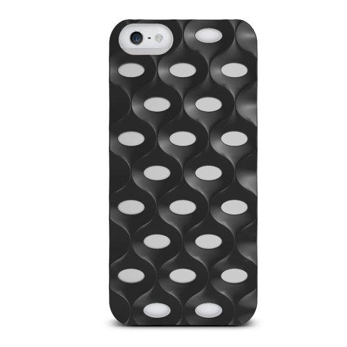 iLuv ai5l apebk Back Cover per Apple iPhone 5/5S Nero