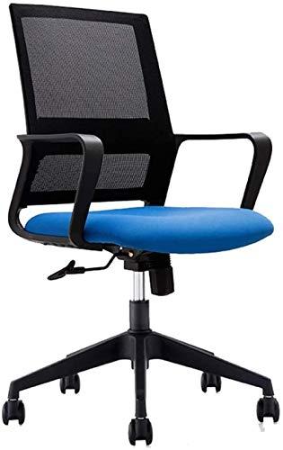 Computer Bureaustoel Verstelbare Bureaustoel met Lendensteun - Hoge Rugleuning met Ademende Mesh Frame Recliner