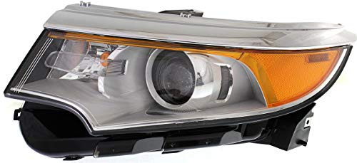 Garage-Pro Headlight Compatible with FORD EDGE 2011-2014 LH Assembly Halogen SE/SEL/Limited Models