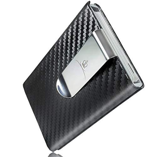 ROYALCROWN マネークリップ カードケース クレジットカード スライド式 スキミング防止 磁気防止 薄型 個人...