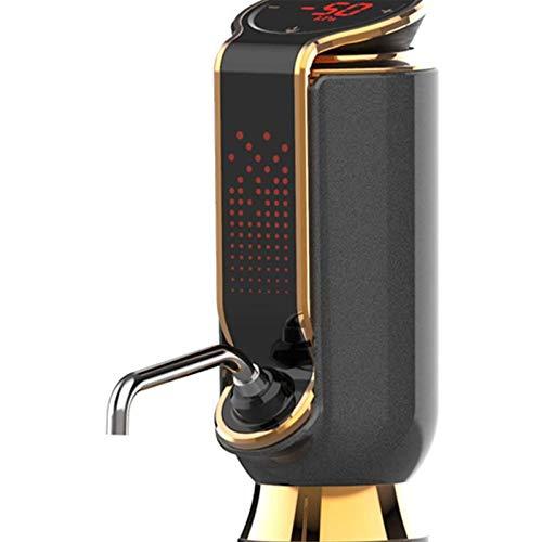 Decanter per vino in vetro fatto a mano, Aeratore del vino elettrico, distributore di aeratore elettrico USB dignitore aerazione del vino a caricatore con display a LED Smart multi-funzione pourere di