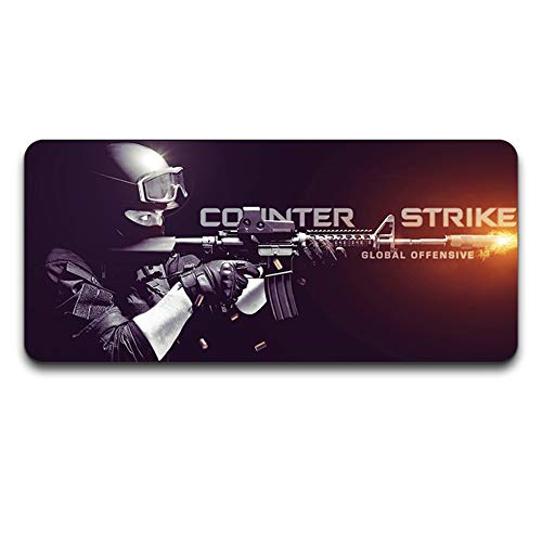 YEQ Mouse Pad, Extended XXL Large Professional Gaming Mouse Mat with 3mm-Thick Rubber Base, for Computer Desktop, Computer Keyboard, Personal Computer and Laptop-11