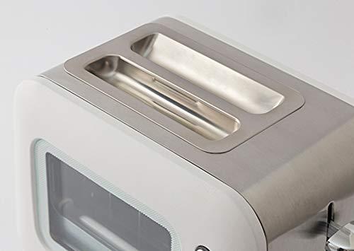 スマイル(SMILE)焼き目の見えるポップアップトーターホワイト27.2×18.6×18.5cmSE6100