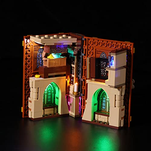 SESAY Juego de luces personalizadas para Lego Harry Potter Hogwarts Moment, juego de iluminación LED compatible con Lego 76382 (sin juego de Lego)