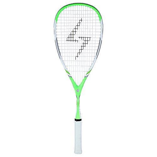 Spinway Professional Light Weight Squash Racket HX 100 with Full Cover Bag (Green)