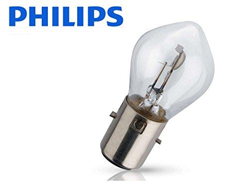 1 BOMBILLA PHILIPS VISION S2 +30% LUZ 12V 35/35W BA20d LAMPARA MOTO COCHE NORMAL MAXIMA CALIDAD 12728C1 HOMOLOGADA