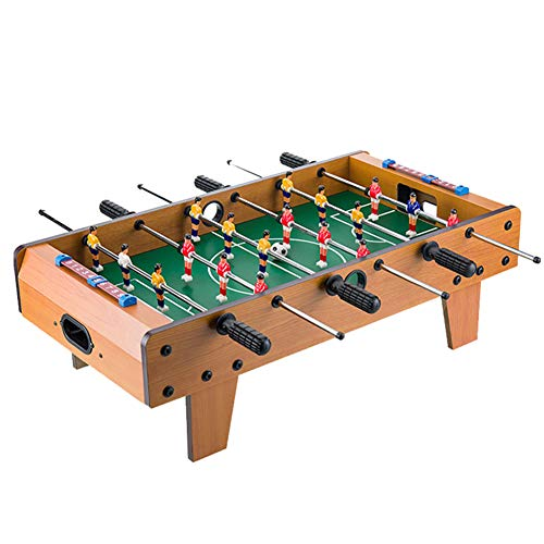 %46 OFF! softneco Fun Tabletop Soccer Game for Indoor Home Party Recreational,Mini Foosball Table Wooden,Portable Football Table for Kids D 693724cm