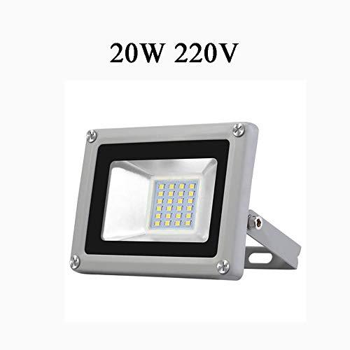 HimanJie 20W 30W 50W 100W 150W 200W 300W 500W LED Kaltweiß Wandstrahler Lampe Außenstrahler Aluminium Strahler Flutlicht 220V IP65 (20)