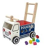 I'M Toy - IM87701 - Le Camion De Police - Porteur En Bois Evolutif Pour...