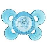 Chicco Succhietto Physio Comfort Bimbo in Silicone, 6-16 Mesi, Blu, [Modelli Assortiti]