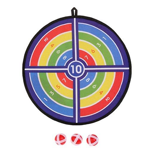 WWWL Dartboards Deportes Juguetes de Tela Dardo Conjunto Kid Ball Target Juego Para Niños Juguete de Seguridad Pegajosa Bola de Dardos Junta B