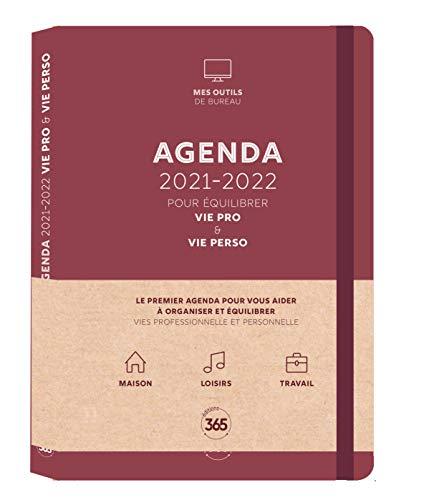 Agenda 2021-2022 pour équilibrer vie pro & vie perso
