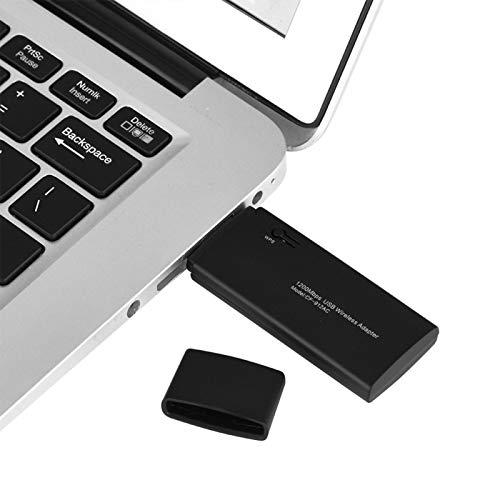 Jinyi Adattatore WiFi, Adattatore WiFi Dual Band, Plug And Play Robusto e conveniente affidabile per L'Ufficio di intrattenimento Domestico dell'azienda per Uso Generico