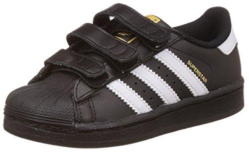 adidas Superstar Foundation, Zapatillas Unisex niño, Negro (Core Black/Footwear White/Core Black), 31 EU
