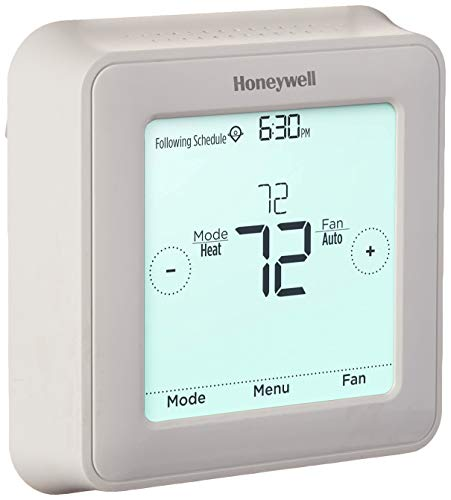 Honeywell RTH8560D1002/E T5 Touchscreen Thermostat, White
