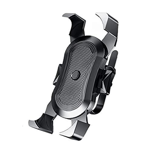 WYYUE Soporte De TeléFono Bicicleta 360 ° Montaje del TeléFono, AmortiguacióN Antideslizante Universal para TeléFono Inteligente De 4-6.8 Pulgada