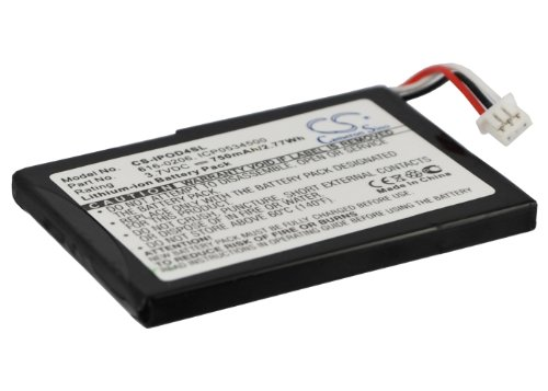 Cameron sino 750mAh Li-ion Replacement 616-0183,616-0206,616-0215,AW4701218074,ICP0534500 Battery for Apple iPod 4th Generation