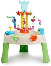 Little Tikes Fabryka Fontann Stół Wodny - Zabawka Ogrodowa, Bezpieczny i Przenośny Stolik dla Dzieci - Zabawka do Gier Ogrodowych, Zachęca do Kreatywnej Zabawy, Od 24 Miesięcy