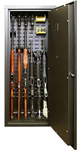 Secure It Gun Safe Agile Model 52 Gun Cabinet: Holds 6...