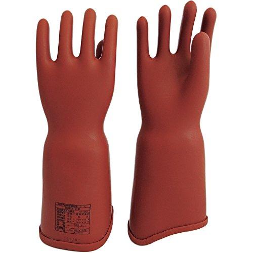 ワタベ 高圧ゴム手袋410mm胴太型S 550S 絶縁手袋