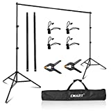 EMART Photography Backdrop Stand, 8 x 8 ft...