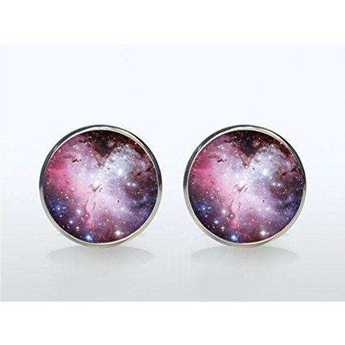 Magenta Pendientes Nebula Galaxy Galaxy encanto, Magenta Pendientes Nebula Galaxy, Galaxy Pendientes Pendientes Pendientes