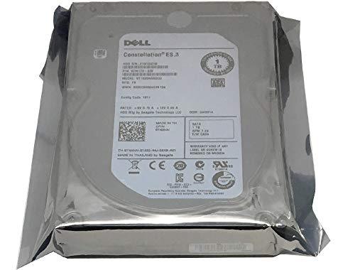 DELL ST1000NM0033 Interne Festplatte (1 TB, 7.200 U/min, 128 MB Cache, SATA, 6 GB/s, 3,5 Zoll / 8,9 cm)