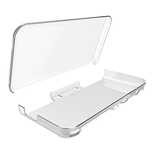 Cover Case for New Nintendo 2DS XL,Crystal Clear Case for New Nintendo 2DS XL