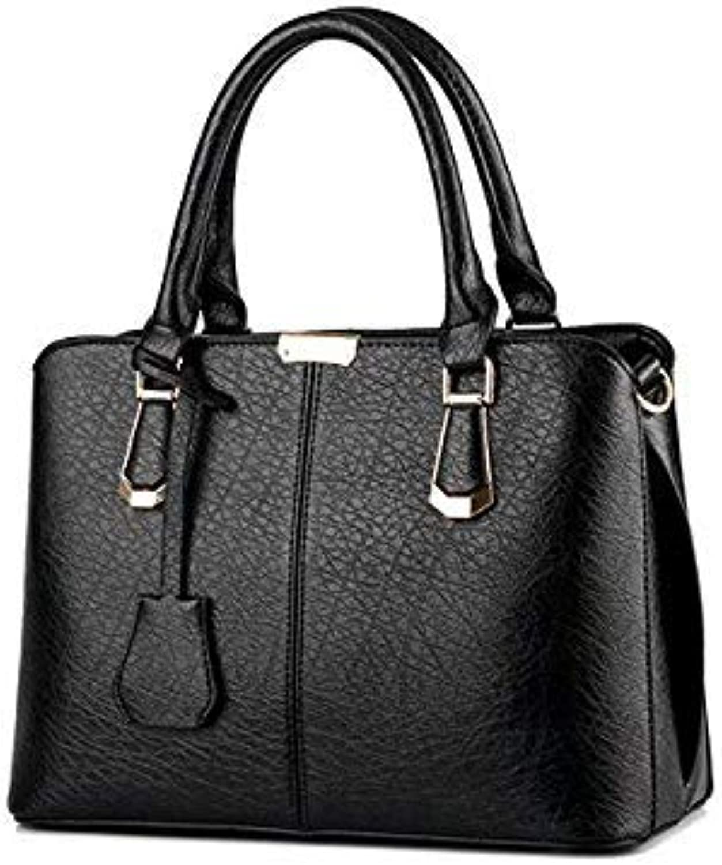 Bloomerang Designer Women Handbag Female PU Leather Bags Handbags Ladies Portable Shoulder Bag Office Ladies Hobos Bag Totes Bolsos women color Black