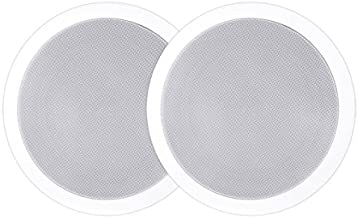 System One IC-820 - Pareja de altavoces empotrables de 8