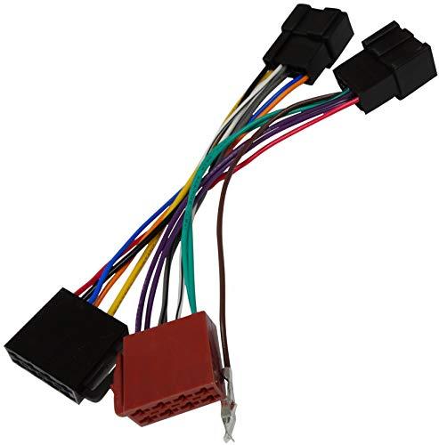 Aerzetix E4 Adattatore connettore Cavo convertitore per autoradio con connettore ISO Compatibile con Cadillac/chevrolet-c2027