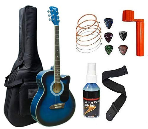 Xtag Blue Black Semi Acoustic 40