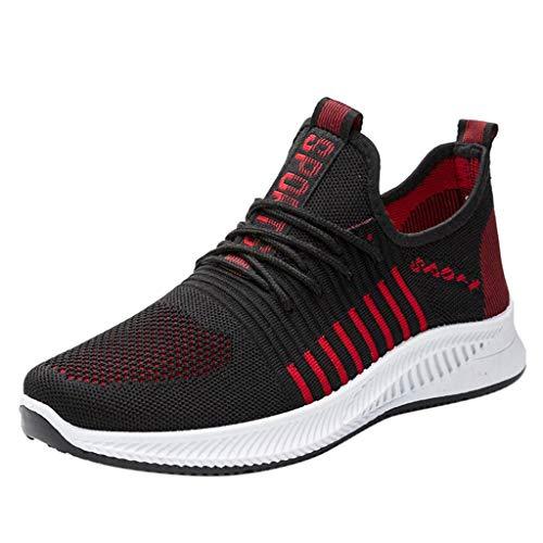 Vimoli Leichte Laufschuhe Unisex Sneaker Atmungsaktiv Stoff Turnschuhe Fitness Sportschuhe Herren Damen Damen Schuhe
