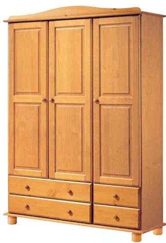 La Factoría Muebles - Armario 3 puertas y 4 cajones en ,