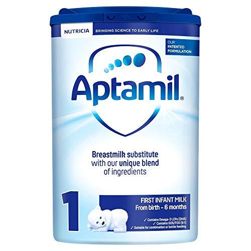 Aptamil 1 First Infant Baby Milk Powder Formula, from Birth, 800 g