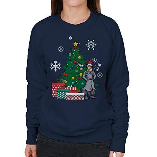 Cloud City 7 Inspector Gadget rond de kerstboom vrouwen Sweatshirt