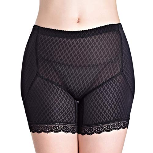 AMURAO Pantalones Acolchados para Mujeres Control Bragas Levantador de culatas Fajas Shorts de Culo Falso Delgado Boyshort