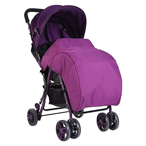 Cochecito Universal Para Bebé Recién Nacido Cochecito Universal Para Bebé Cochecito Universal Para Bebés Cosytoes Liner Buggy Acolchado De Lujo (negro/Púrpura/Rosa)