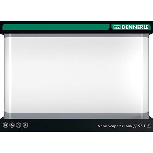 Dennerle 5593 Nano ScapersTank - 55 Liter - Aquascaping Aquarium - 45 x 36 x 34 cm