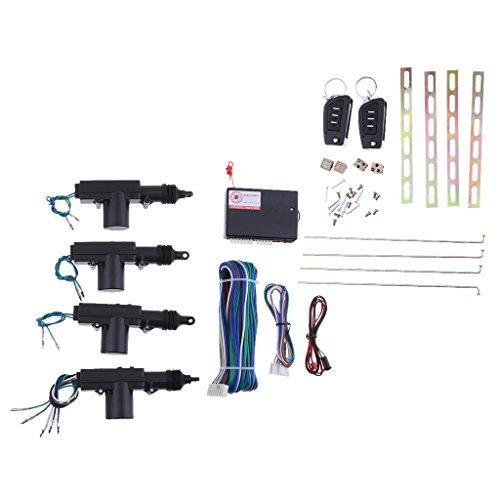 #N/A Kit De Cierre Centralizado Para Cierre Centralizado De Puerta Con 2 Entradas Sin Llave